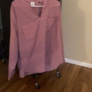 CAbi brand new striped blouse spring collection